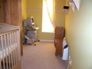 Currently a nursery and computer room