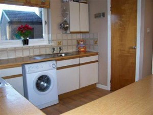 Clean and Basic Buy to Let Kitchen
